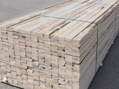 stack of economy grade lumber